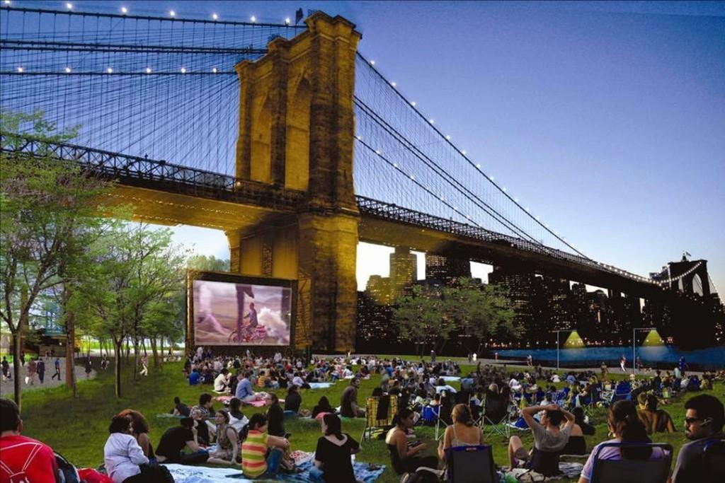 18 Coisas para Fazer em Nova York de Graça Filmes ao ar livre