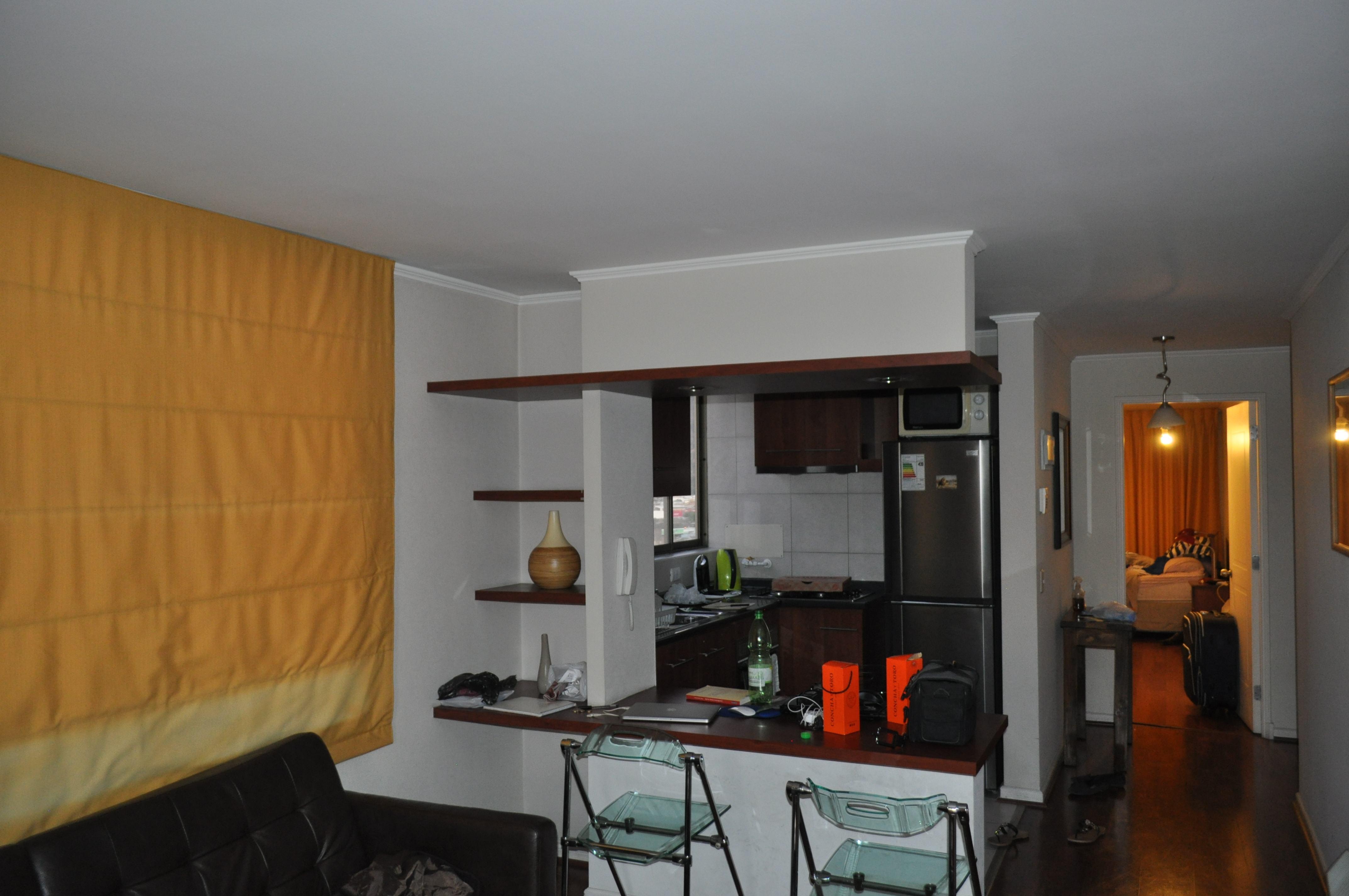 Apartamento em Santiago (Chile) (Foto: Jhonatas Ricardo/Arquivo Pessoal)