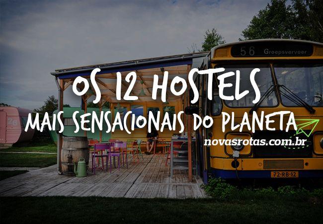 Hostels mais legais