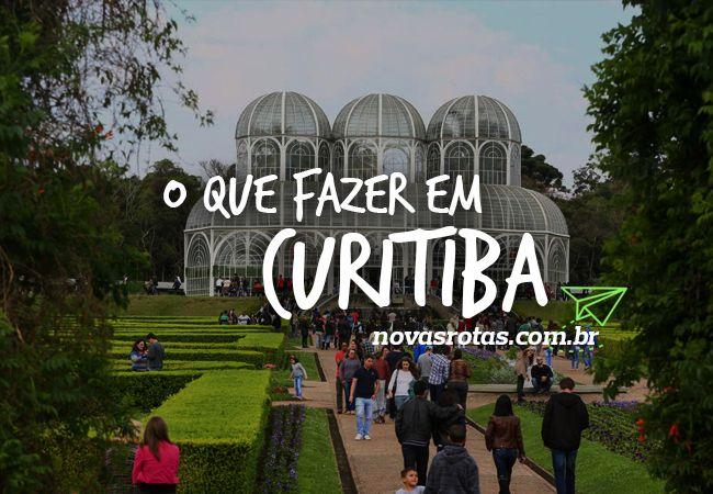 20 principais coisas para fazer em Curitiba