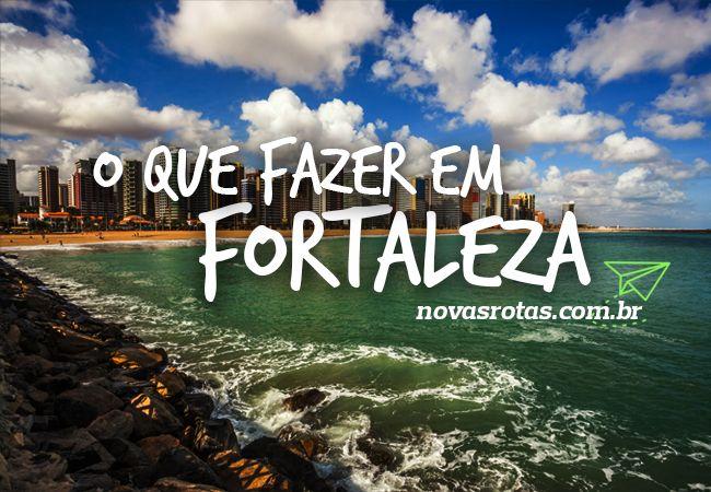 o que fazer na viagem a Fortaleza